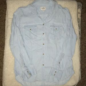 Blue Button Up Shirt